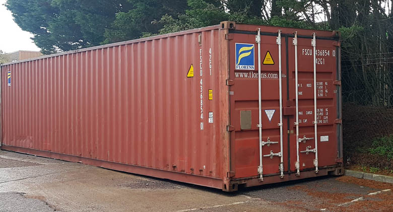 Container Storage in Yate